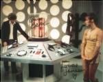Tom Baker, Louise Jameson  -  Multi signed original autograph not a copy 10262